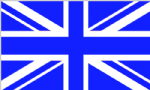 Great Britain Blue Large Country Flag - 5' x 3'.
